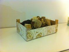 DIY Recycled fruit box