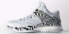 adidas RG3 Boost Trainer White/Black Carmouflage