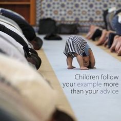 As parents, you are the best example the children can have. If you talk to your parents rudely, expect your children to do the same to you. If you are disrespectful to others, your children will follow too. Islam is filled with Divine advice on the best ways to bring up your children. That makes it an obligation upon parents to be good Muslims so their children will try to emulate them. If you don't take Islam seriously, neither will your children.