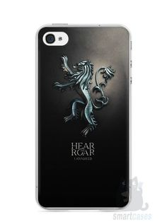 Capa Iphone 4/S Game Of Thrones Lannister