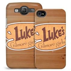 Exclusively ours, this phone case features the Luke's Diner logo from Gilmore Girls and will protect your iPhone or Galaxy in style.