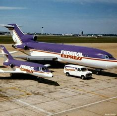 FedEx and Dassault Falcon Cargo Aircraft, Military Aircraft, Air Birds, Plane Photos, Old Planes, Boeing 727, Air Photo, Cargo Airlines, Commercial Aircraft