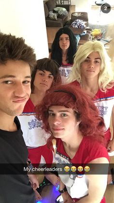 Cameron, Ethan, Jack, Aaron and Grayson