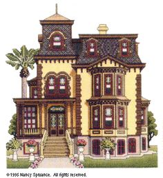 Fulton Mansion designed by Nancy Spruance (Fulton Mansion is in Rockport, TX)