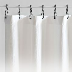 i like the simple shower curtain rings... but $144 is pretty cray cray for something you can DIY
