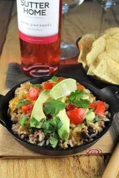 Tex-Mex Cheesy Rice Casserole is a flavorful and delicious dinner that ...
