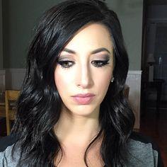 Smokey eye makeup look