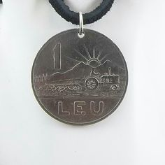 Necklace made with a 1963 Romanian coin.