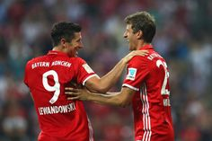 Thomas Müller & Robert Lewandowski