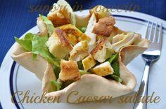 Sapori in concerto: Chicken Caesar salad