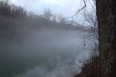 Fog On a River | Fog On A River Free Stock Photo - Public Domain Pictures