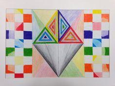 Kylah Humphress, Freshman, 2013, Element and Principles Project