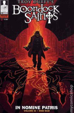 Boondock Saints Mob War (2011 12 Gauge) 2A comic book cover