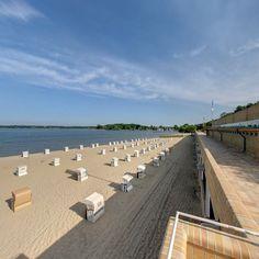 """BERLIN, Strandbad Wannsee, die  """"Badewanne der Berliner"""" seit 1907. http://www.berlinerbaeder.de/baeder/strandbad-wannsee/"""