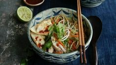 Asian-style chicken noodle soup   Recipe | Good Food