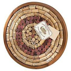 Chateau Wine Cork Board Kit