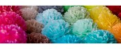 Tissue paper pompoms SETS