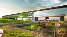 Vencedor do Concurso Projeto Aliah: Um hotel para uma Copa verde / Arkiz + Hiperstudio