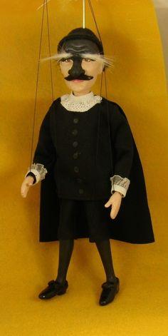 marionette Commedia dell'arte  Il Dottore ( the Doctor )