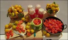 Guavas- Goiabas Miniature table - Mesa miniatura http://ivanigrande.blogspot. Miniature Food/ Food Preparation Dollhouse ...