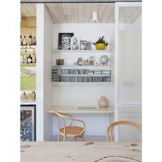home office entre a cozinha - Arkpad