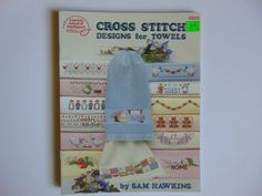 Cross Stitch Designs for Towels American by TrinasCraftPatterns