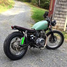 Thanks to @mattpewpew802 For sharing his Kawasaki Kz brat , cool look