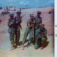 John Murphy and Marines Photo Op. Dec. 1968 ~ Vietnam War