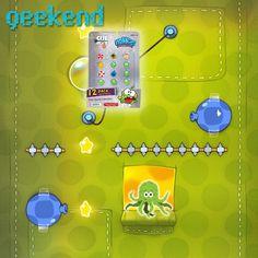 ¿Adicto a #CuttheRope? ¡Colecciona todo! #Geek #App #Games #Geekend