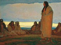 The painting of Maynard Dixon depicts the finer elements of American West and… Native American Artwork, Native American Artists, American Indian Art, Western Artists, American Indians, Maynard Dixon, Desert Art, Portraits, Southwest Art
