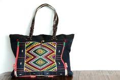 Grand sac à main de #femme en #cuir, #sac artisanal #mode #fashion #bag for #woman