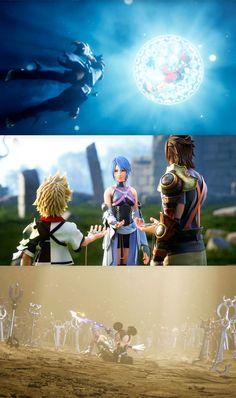 Kingdom Hearts HD 2.8 : Une cinématique d'introduction somptueuse