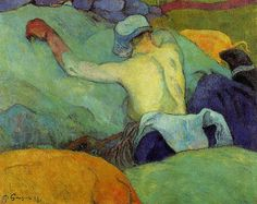 Gauguin, Paul - In the heat of the day - 1888