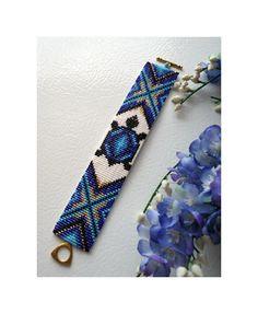 Bead Patterns Boutique - Native American Turtle Totem Cuff Bracelet