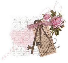 zonder of andere kleur rozen,oud nostalgisch gedicht,verhaal,oude krant enz.sleutels