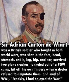 The Most Epic War Veteran