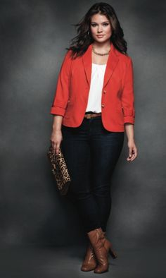How to wear blazer plus size ideas for 2019 Fashion Mode, Curvy Girl Fashion, Love Fashion, Plus Size Fashion, Autumn Fashion, Womens Fashion, Teen Fashion, Mode Outfits, Casual Outfits