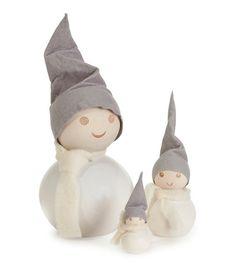 Aarikka pakkasperhe Little Christmas, White Christmas, Xmas, Christmas Ornaments, Nice Things, Gnomes, Fairies, Holiday Decor, Design
