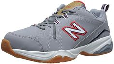 New Balance Men's MX608V4 Training Shoe, Red/Grey, 9.5 D US - Durable leather upper. Dual-density collar foam. Sublimated island pattern on tongue, collar, and inset. Lace-up closure with combination gilly and hidden eyelets. Pull-tab at heel for easier on and off. Breathable textile lining and an EVA foam footbed for cushioning. Injection-molded EVA... - http://ehowsuperstore.com/bestbrandsales/shoes/new-balance-mens-mx608v4-training-shoe-redgrey-9-5-d-us