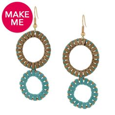 Circle Up Earrings   Fusion Beads Inspiration Gallery