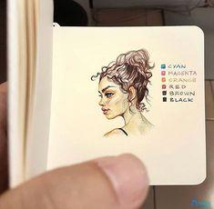 love these little drawings Arte Sketchbook, Wow Art, Sketch Painting, Sketchbook Inspiration, Traditional Art, Cute Drawings, Art Inspo, Art Sketches, Amazing Art