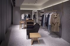 Valentino flagship store by David Chipperfield Architects, Tokyo – Japan Valentino Store, Valentino Men, Visual Merchandising, David Chipperfield Architects, Italian Fashion Designers, Design Furniture, Tokyo Japan, Retail Design, Stores