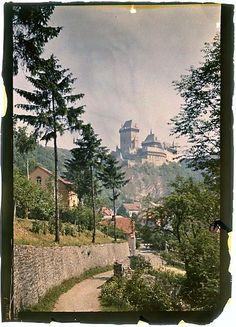 Karlštejn Castle near Prague Ferdinand Bučina (1909 – 1994)