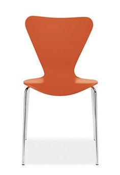 Option #2 Dining Room Chair in Orange