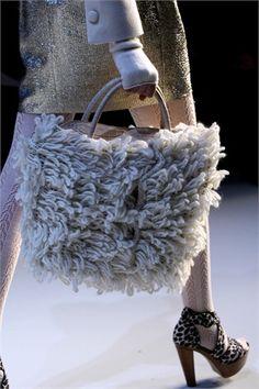 #handbag blugirl Maglia che sfila - speciale #borse #crochet