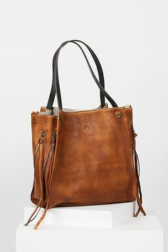 Slide View 1: Daisy Leather Tote