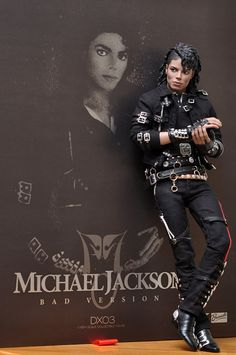 Michael Jackson 'Bad' Doll by Triumph International