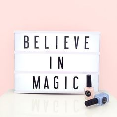 We do believe in magic!!! #toystyle #magic #nailpolish #nails #5free #believe