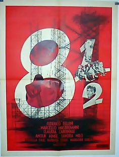 8 1/2 movie poster