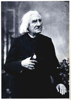 Franz Liszt par Félix Tournachon Nadar